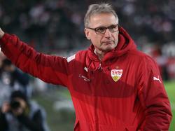 Michael Reschke äußerte sich über den Stuttgarter Trainer Hannes Wolf