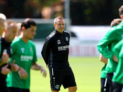 André Breitenreiter schimpft über die Trainingsplatz-Bedingungen