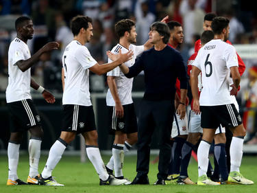 Die deutsche Fußball-Nationalmannschaft ist für die Nationenliga im Topf der besten vier Teams gesetzt