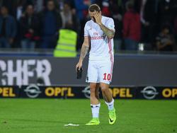 Pierre-Michel Lasogga steht gegen Darmstadt nicht im Kader