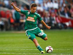 Louis Schaub spielt seit der Jugend für Rapid Wien
