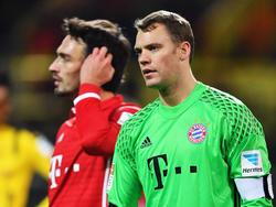 Manuel Neuer stand bei der 250. Auswärtspleite der Bayern auf dem Platz