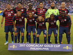 Once inicial de Estados Unidos contra El Salvador. (Foto: Getty)