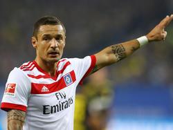 Sejad Salihović will mit dem HSV in der Liga Erfolge feiern