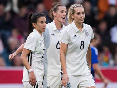 Deutschlands Frauen feiern Kantersieg gegen Färöer