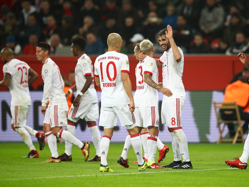 Bayern München gewinnt erstmals seit fünf Jahren bei Bayer Leverkusen
