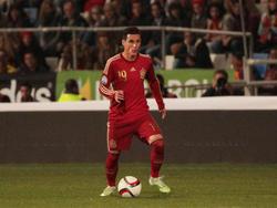 Callejón con la camiseta de la selección española en 2014. (Foto: Getty)