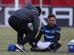 Fabian Schleusener fehlt dem FSV Frankfurt die restliche Saison