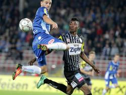 Blau Weiß Linz behielt im Derby gegen den LASK die Oberhand