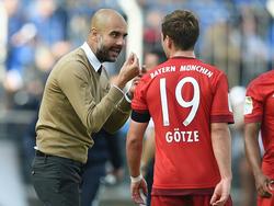 Mario Götze war von der Arbeit unter Pep Guardiola nicht restlos begeistert
