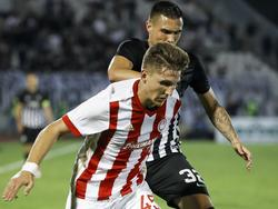 Panagiotis Retos (vorne) steht vor einem Wechsel zu Bayer Leverkusen