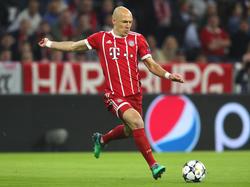 Arjen Robben soll beim FC Bayern verlängert haben
