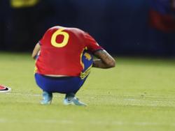 Dani Ceballos brauchte etwas, um die Niederlage zu verkraften