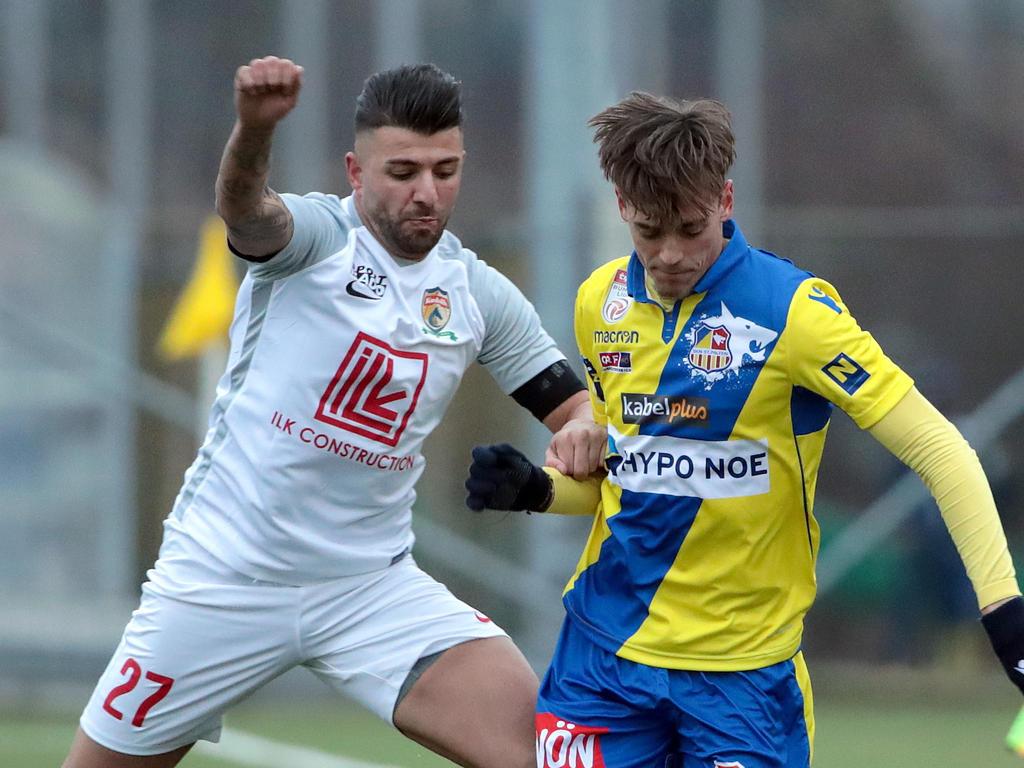 Karabakh besiegte mit Ümit Korkmaz dessen Ex-Klub St. Pölten