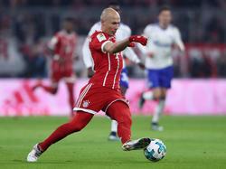 Arjen Robben erzielte in dieser Saison schon fünf Pflichtspieltore