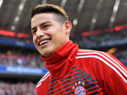James Rodríguez ist noch bis 2019 an den FC Bayern ausgeliehen