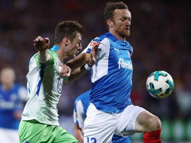 Dominic Peitz beschwert sich über den Modus der Relegation