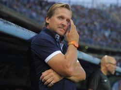 Holte bei seinem Debüt in China einen Punkt mit Dalian Yifang: Trainer Bernd Schuster