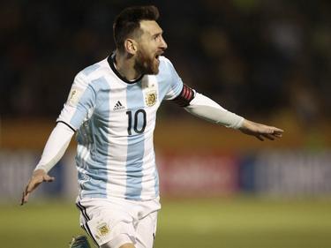 Messi sacó todo su fútbol y aplastó a Ecuador con tres dianas. (Foto: Getty)