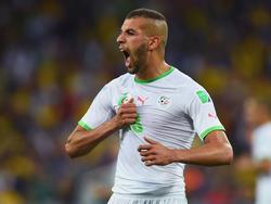 Islam Slimani markierte den Treffer zum 3:0 für Algerien gegen Malawi