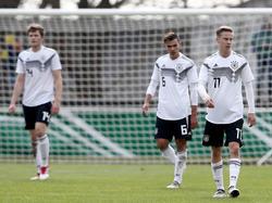 Die U19 des DFB musste einen herben Rückschlag wegstecken