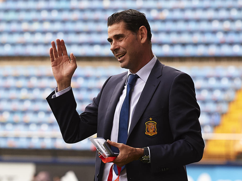 Fernando Hierro muss optimistisch in die neue Aufgabe starten