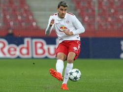 Daniel Raischl im Youth-League-Einsatz für Salzburg