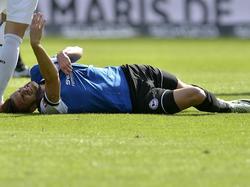 Christopher Nöthe verletzte sich im Spiel gegen Hannover