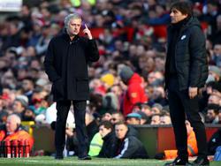 Conte (r.) ist Topfavorit auf den Trainerjob bei Real