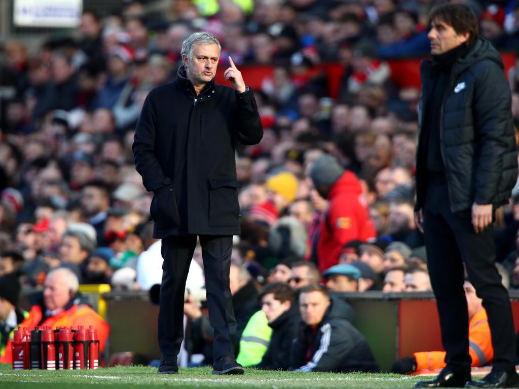 José Mourinho feuert gegen Trainer-Kollege Frank de Boer