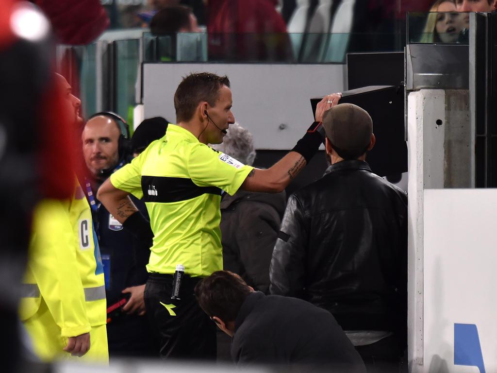 Italienische Schiedsrichter müssen sich immer mehr mit Gewalt auseinandersetzen