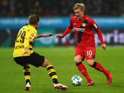 Die Champions-League-Anwärter Borussia Dortmund und Bayer Leverkusen treffen am Samstag aufeinander