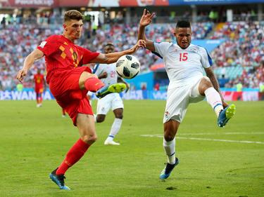 Belgien mit Thomas Meunier brauchte gegen Panama eine Halbzeit Anlauf