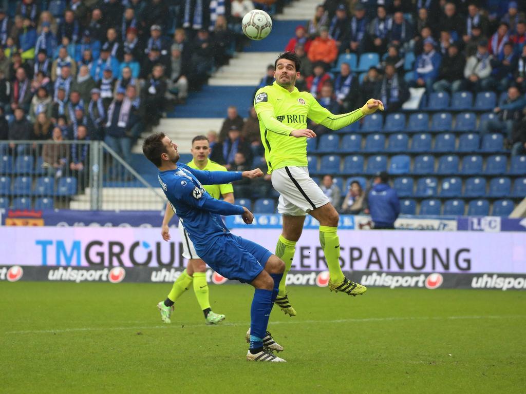 Der SV Wehen Wiesbaden hat ein 0:0 gegen den FC Magdeburg erkämpft