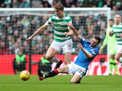 Im Old Firm musste sich Celtic gegen die Rangers mit einem Punkt zufrieden