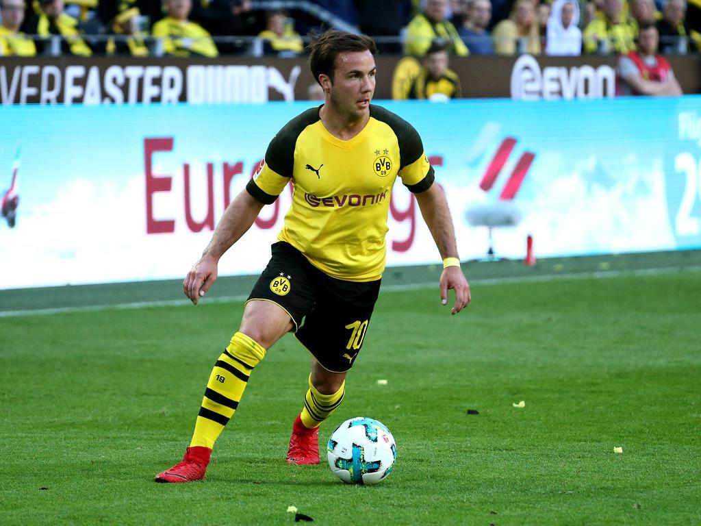 Mario Götze wird offenbar von mehreren Klubs umworben