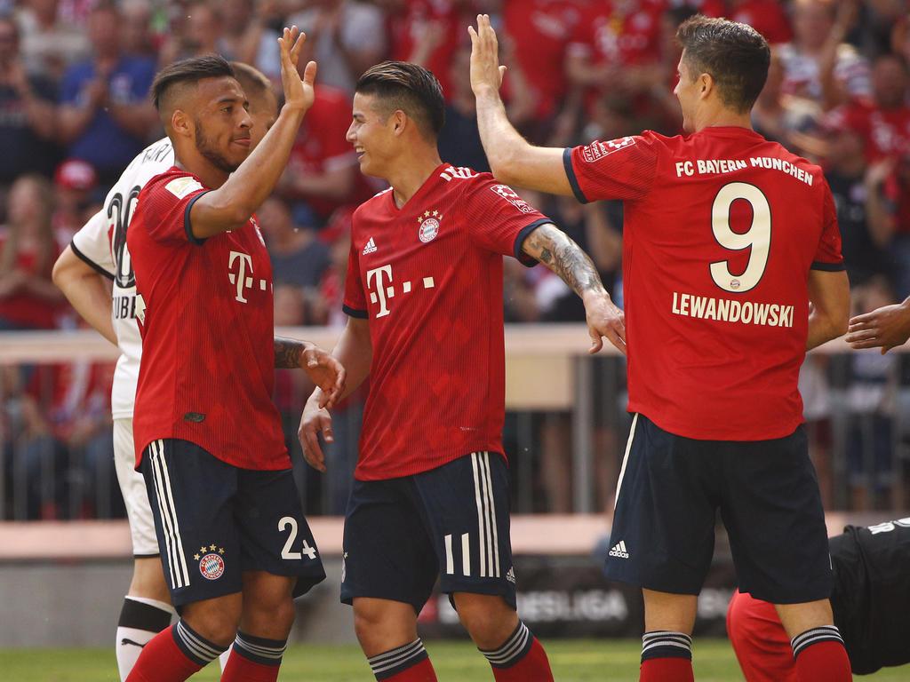 Die Bayern-Asse zeichneten sich durch besondere Fairness aus