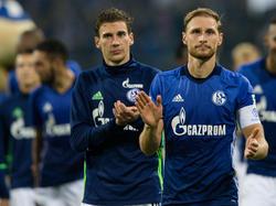 Traut Leon Goretzka (l.) eine tragende Rolle in München zu:Weltmeister Benedikt Höwedes