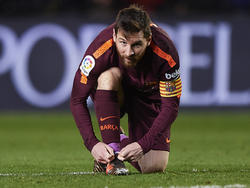 Lionel Messi könnte den FC Barcelona unter Umständen ablösefrei verlassen
