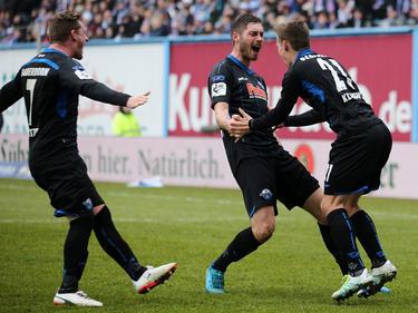 Der SC Paderborn drehte der Partie gegen Hansa Rostock