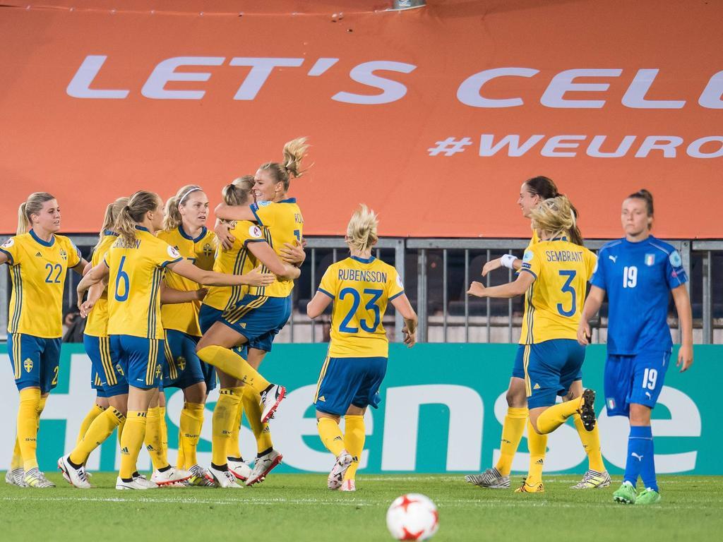 dames ek finale voetbal