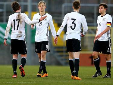 Der Deutsche U17-Nachwuchs steht im EM-Halbfinale