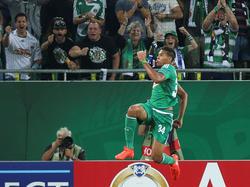 Rapid-Stürmer Joelinton erzielte den zweiten Treffer der Grün-Weißen