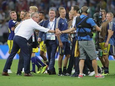 Nach dem Spiel gegen Schweden kam es zu unschönen Szenen