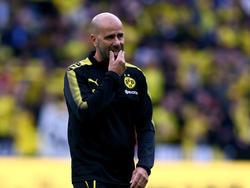 """BVB-Coach Peter Bosz ist laut eigenen Angaben """"nie zufrieden"""""""