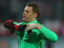 Manuel Neuer war trotz des Sieges gegen Darmstadt bedient