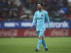 Lionel Messi fehlt Barcelona im Spiel gegen Malaga