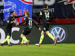 Bittencourt (l.) und Koziello (M.) erzielten die Treffer für die Kölner