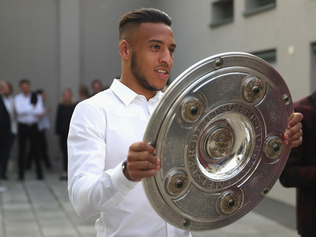 Freut sich auf sein erstes Pokalfinale mit dem FC Bayern: Rekordeinkauf Corentin Tolisso