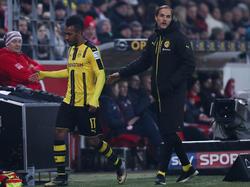 BVB-Coach Thomas Tuchel (r.) war mit dem Unentschieden gegen Mainz nicht zufrieden